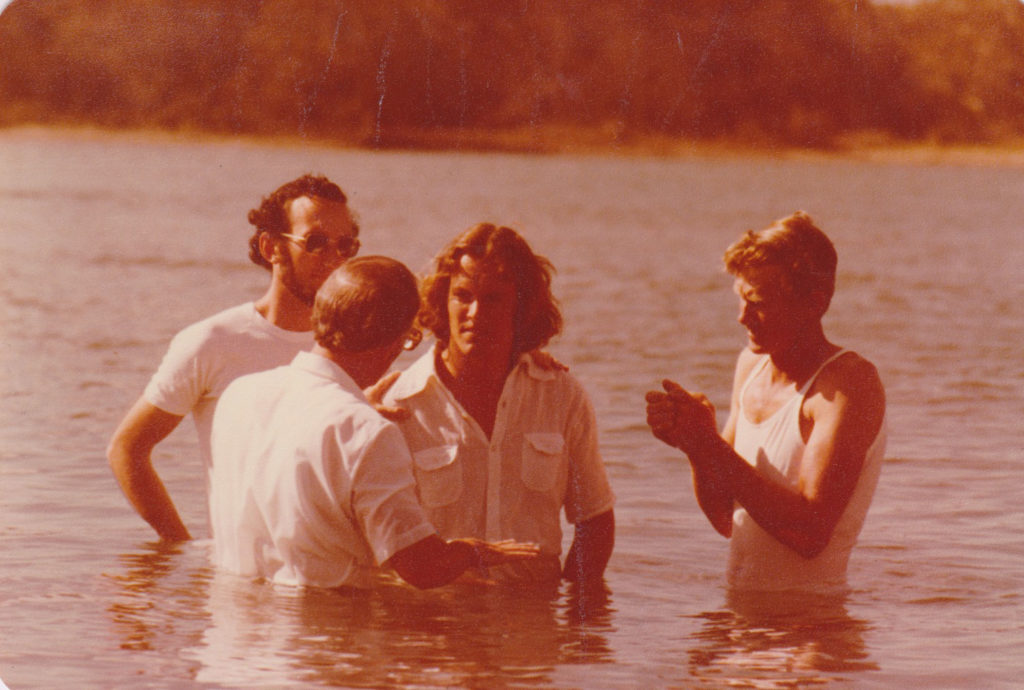 Stephen's Water Baptism in Noosa River
