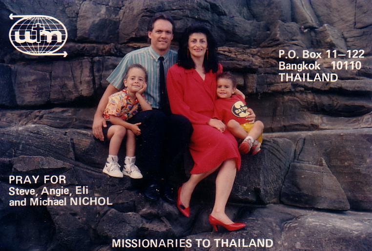 Doing missionary work in Bangkok